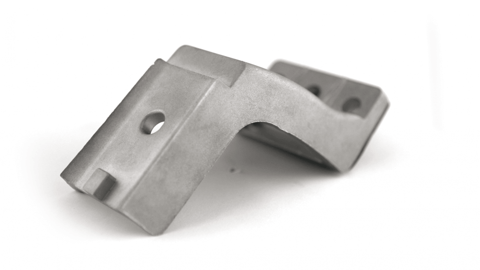 gegoten aluminium steun