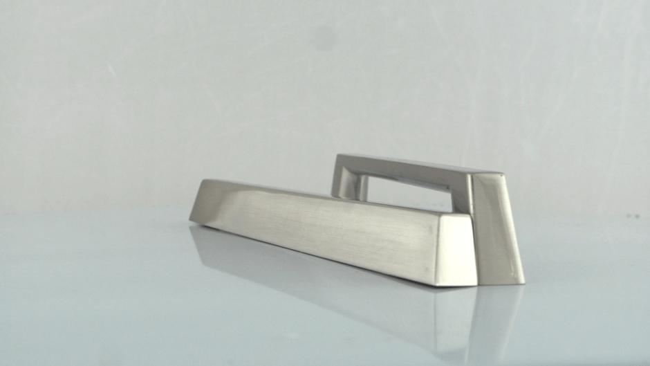 gespoten aluminium handgreep
