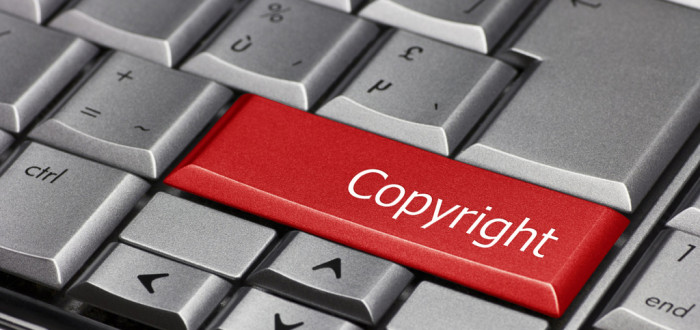 Computer Key - Copyright