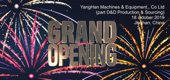 opening YangHan Machines & Equipment