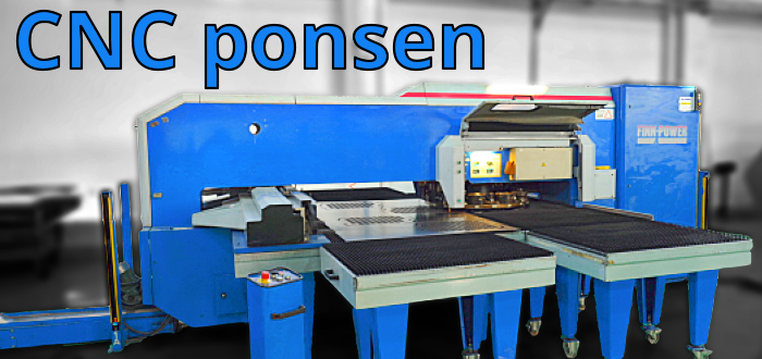 CNC ponsmchine - D&D Production & Sourcing